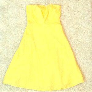 J. Crew Factory Strapless Dress